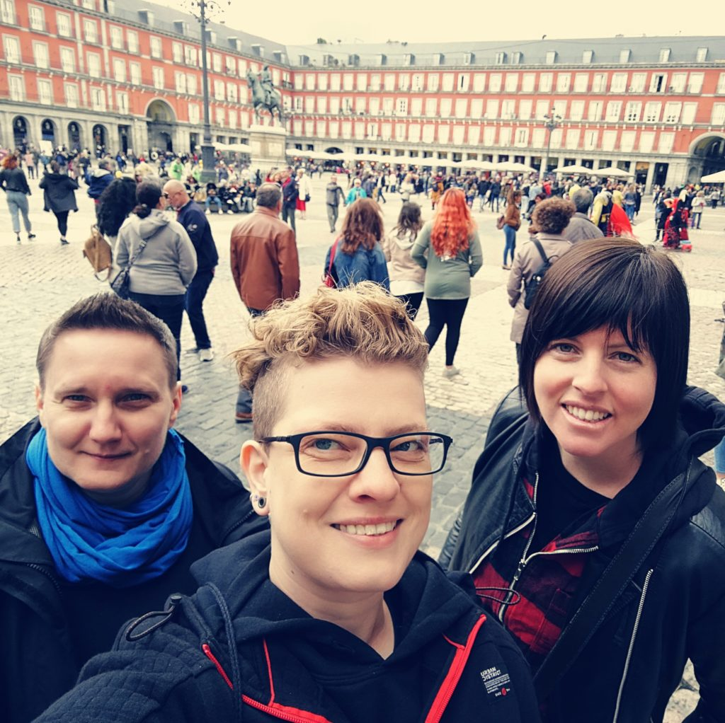 Queer Pack Team in Madrid
